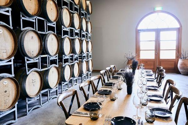 Portet Barrel Room Scaled